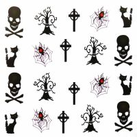 Halloween Water Decal A1118