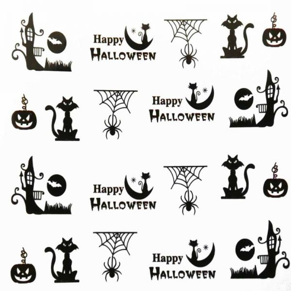 Halloween Water Decal A1119