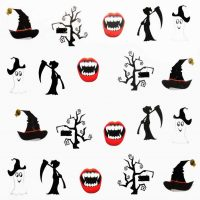 Halloween Water Decal A1120