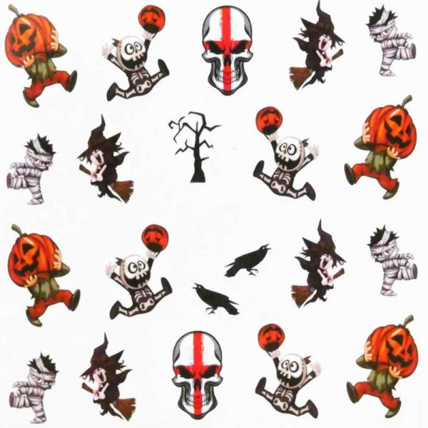 Halloween Water Decal A1121