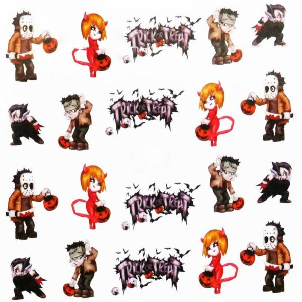 Halloween Water Decal A1122
