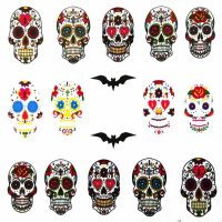 Halloween Water Decal A1123