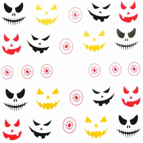 Halloween Water Decal A1125