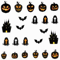 Halloween Water Decal A1128