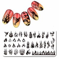 Flame Stamping Plate