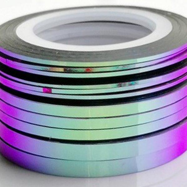 hameleon Violet Aqua Colour Changing Striping Tape