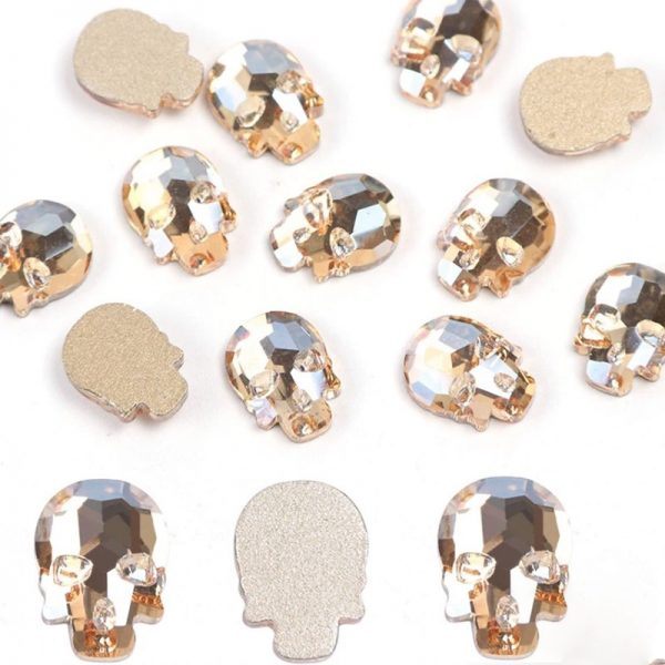 Champagne Crystal Skull