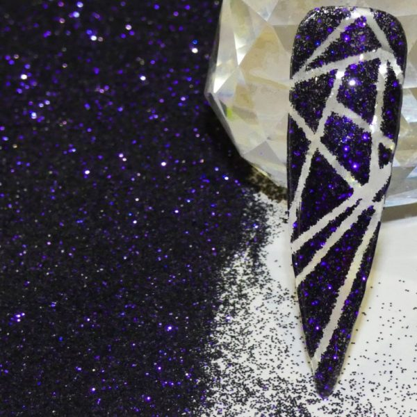 Purple To Black Colour Shifting