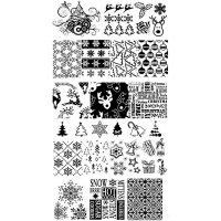 Christmas Stamping Plate Design 7
