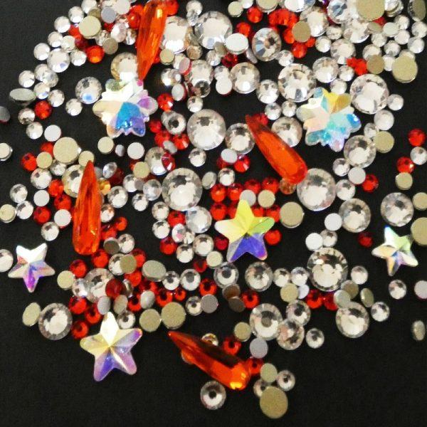 Christmas Crystals And Shapes Set