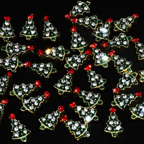 Christmas Tree Crystal Alloy