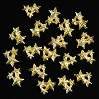 Gold Alloy Star Cluster