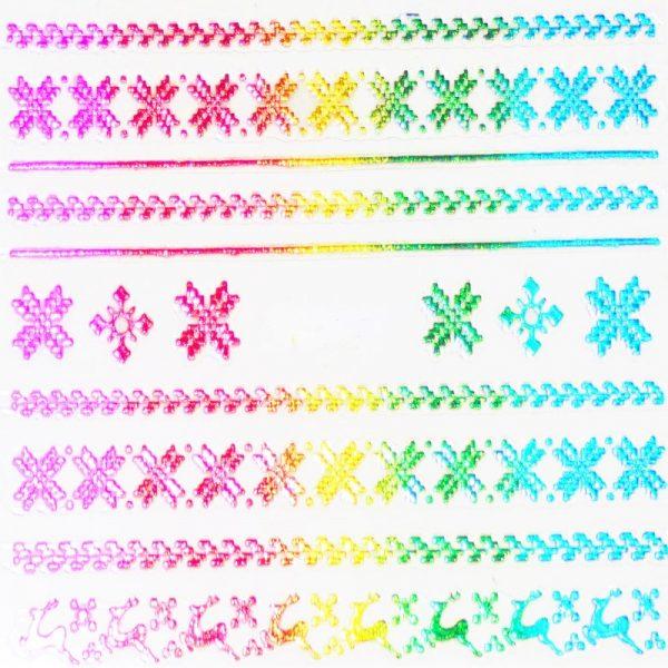 Holographic Rainbow 007
