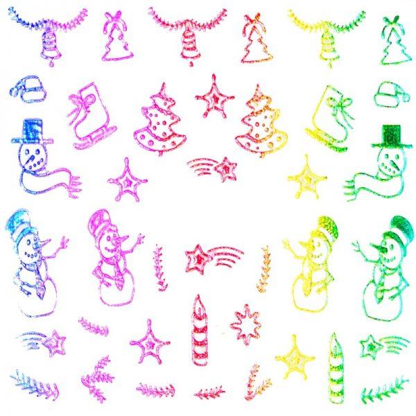 Holographic Rainbow 010