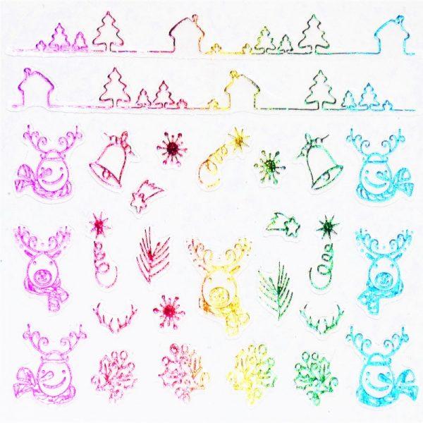 Holographic Rainbow 011