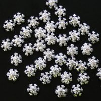 Silver Alloy Snowflakes