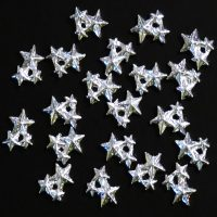 Silver Alloy Star Cluster