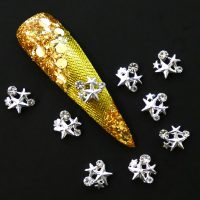 Silver Star Cluster Crystal Alloy Design 2