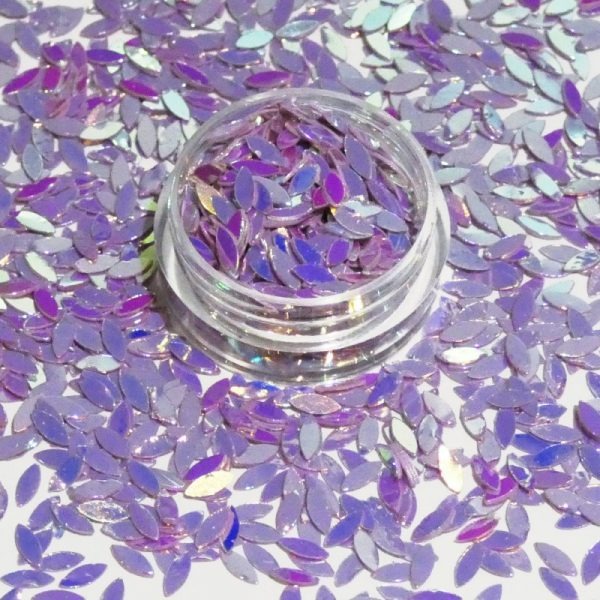Petal Shape Purple Blue Gold Effect Colour Shifting