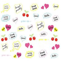Valentine Water Decal 545