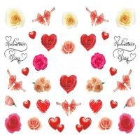 Valentine Water Decal 746