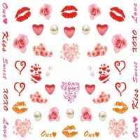 Valentine Water Decal 748