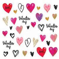 Valentine Water Decal 753