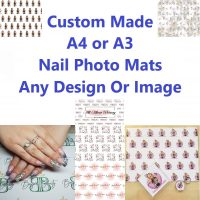 Custom Nail Photo Mat