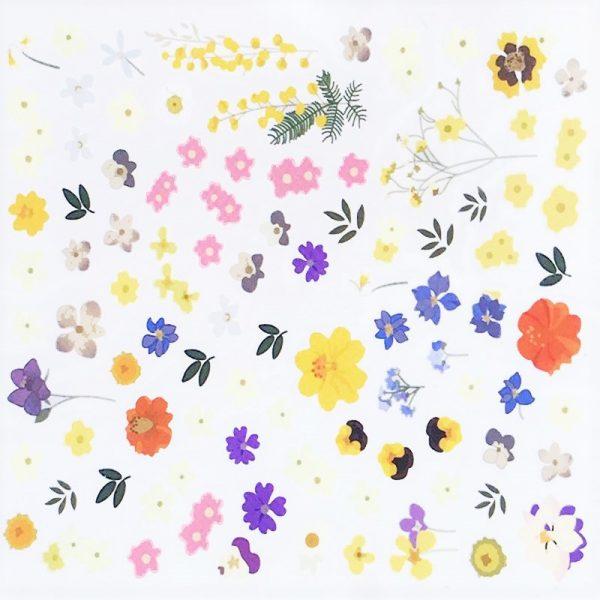 Flower Water Decal Design 9005