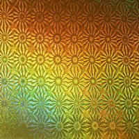 Gold Holographic Pattern A4 Mat