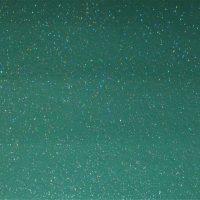 Green Holographic Glitter A4 Mat