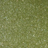 Green Metallic Glitter A4 Mat