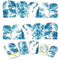 Marble Water Decal Design 616