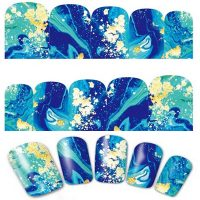 Marble Water Decal Design 618