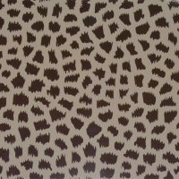 Animal Print Brown and Beige A4 mat