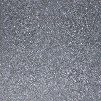 Silver Metallic Glitter A4 Mat