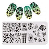 St Patricks Day Clover Image Stamping Plate