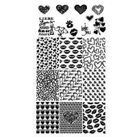 Valentine Stamping Plate Design 28