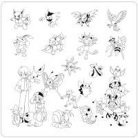 Pokemon Stamping Plate