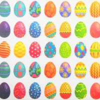 Easter Egg Display Mat