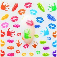 Hands And Lips Water Decal