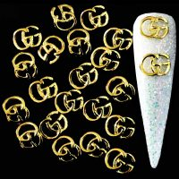 Gucci Logo Gold Alloy Decoration x 1 Design 8