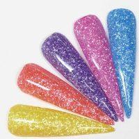 Pastel .015 Glitter Set