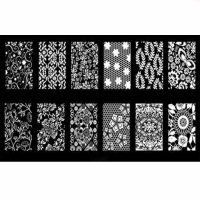 Lace And Pattern Stamping Plate Design 21