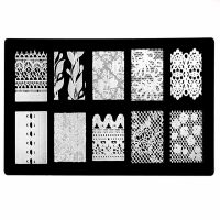 Lace Stamping Plate Design 030