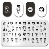 Betty Boop Stamping Plate Design 008