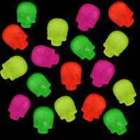 Luminous Rhinestone Skulls