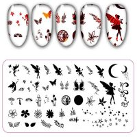Fairy Stamping Plate Design 31