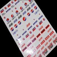Pepsi & Coca Cola Nail Art Stickers