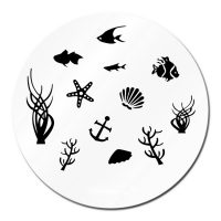 Sea Life Stamping Plate Design 012